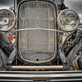 V8 Grill by Ron Meyers - Transportation Automobiles