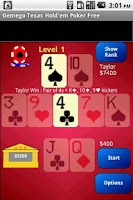 Screenshot of Texas Hold'em Poker Large Free