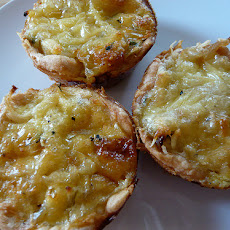 Mini Swiss Cheese Quiche