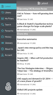 LNG Business Review - screenshot