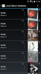 Album Cover Finder Screenshot