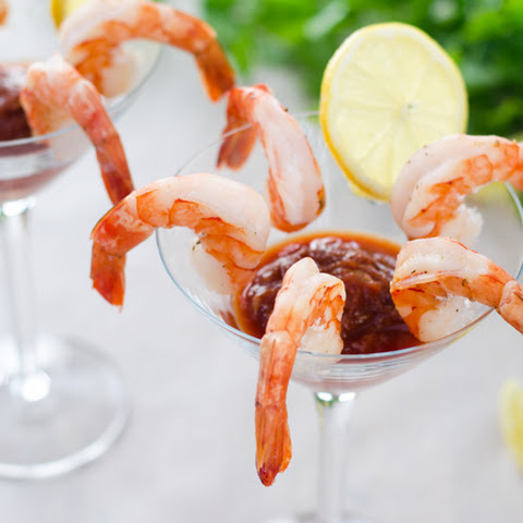 Easy Roasted Shrimp Cocktail