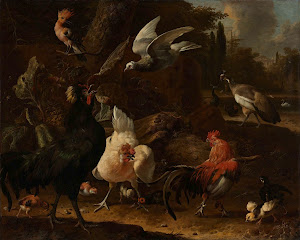RIJKS: Melchior d' Hondecoeter: painting 1686