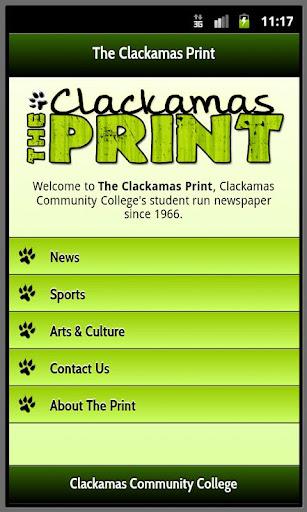 玩新聞App|The Clackamas Print: Mobile免費|APP試玩