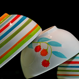 by Dipali S - Artistic Objects Cups, Plates & Utensils ( pattern, color, artistic, bowls )
