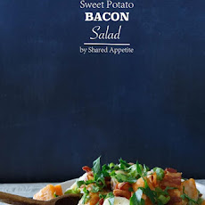 Red and Sweet Potato Salad with Bacon