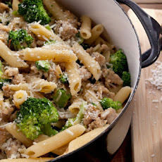 Creamy Pasta with Chicken Sausage and Broccoli Recipe