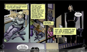 Screenshot of myComics
