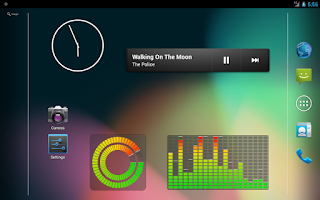 Screenshot of Music VU Visualizer Widgets