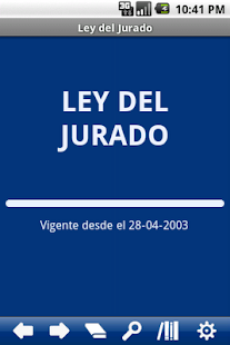 Spanish Jury Law - screenshot