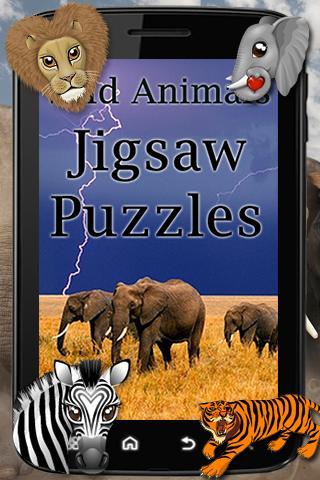 Wild Animals Jigsaw Puzzle