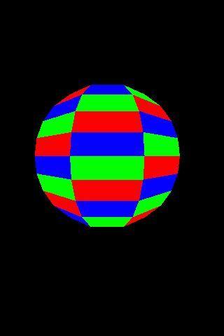 OpenGL ES Sphere2