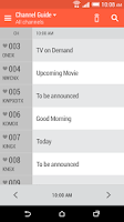 Screenshot of HTC Sense TV
