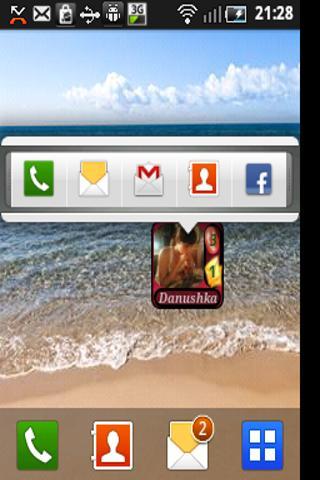 Speed Dial Widget Contact+