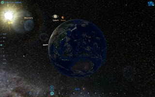 Screenshot of Amazing Space Journey
