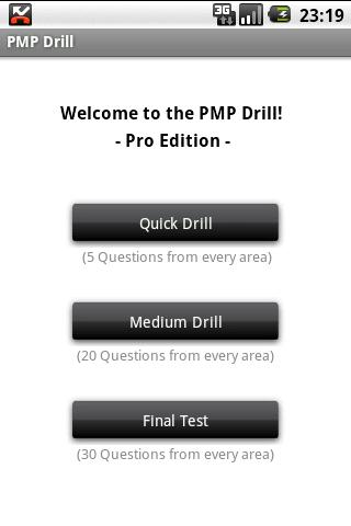 Drill for the PMP® Exam