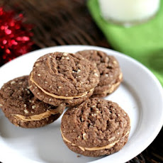 Mexican Hot Chocolate Sandwich Cookies