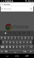 Screenshot of Changjie Input Method