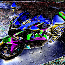 09 Honda CBR 600RR by Benito Flores Jr - Digital Art Things