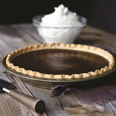 Michael Symon's Chocolate Pumpkin Pie