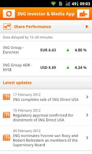 ING Investors Media