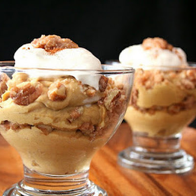 Pumpkin Praline Parfaits