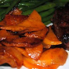 Grilled Sweet Potatoes with Apples