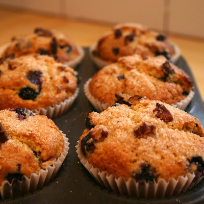 Orange and Blueberry Muffins
