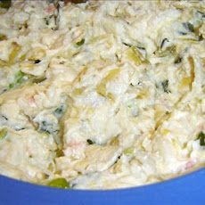 Artichoke Crab Spread (For the Crock Pot)