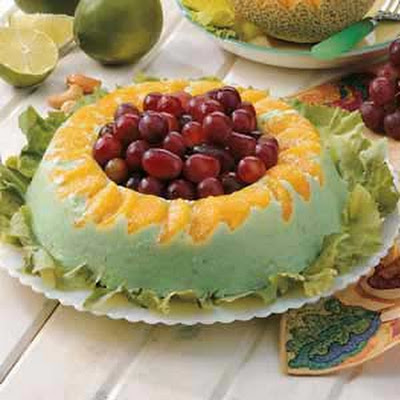 Orange Lime Gelatin Ring