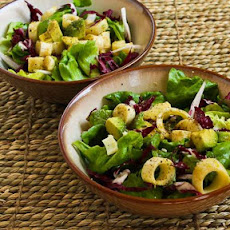 Rich Salad with Hearts of Palm, Avocado, and Radicchio