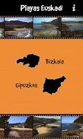 Screenshot of Playas Euskadi