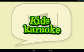 Screenshot of Kids Karaoke