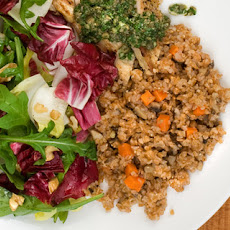 Mushroom and Carrot Bulgur Recipe