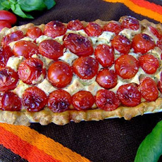 Zurie's Tomato and Cream Cheese Tart