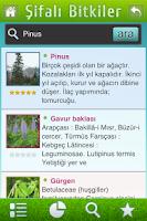 Screenshot of Şifalı Bitkiler Klavuzu