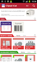 Screenshot of Clipsal iCat