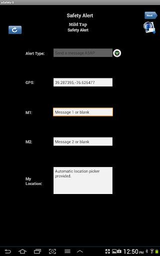 Mild Tap Safety Alert-5