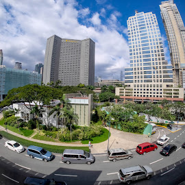 Makati High-Noon by Thomas Yie - Buildings & Architecture Office Buildings & Hotels