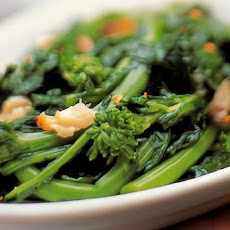 Broccoli Rabe with Roasted Garlic Recipe