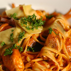Linguine with Two-Olive Marinara