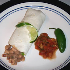 Black-Eyed Peas and Tortillas