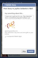 Screenshot of Valentine's Slots