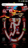 Screenshot of Juggalo Go Launcher Ex Theme