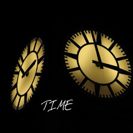 time by Richard Hunt - Typography Captioned Photos ( object )