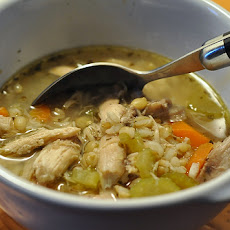 Easy Chicken Barley Soup
