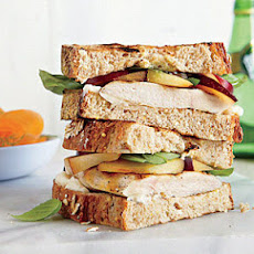 Grilled Turkey-Plum Sandwiches