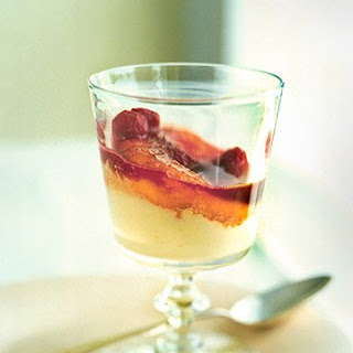 Caramelized Peach Melba