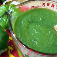 Green Chili Fire Sauce