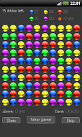 Screenshot of Bubble break